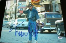 """Michael J. Fox Signed Autograph """"back To The Future"""" Street Photo Psa/dna X87229"""