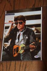 Michael J Fox Signed Autographed 10x14 Photo Psa/dna Back To The Future
