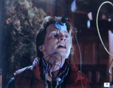 Michael J Fox Signed Autographed 11X14 Photo Back to the Future GV748721