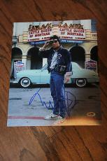 Michael J Fox Signed Autographed 11x14 Photo Psa/dna #x43196 Back To The Future