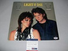 "MICHAEL J. FOX signed autographed ""LIGHT OF DAY"" RECORD SOUNDTRACK PSA/DNA COA"