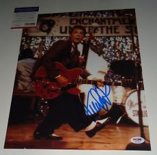 MICHAEL J FOX signed *BACK TO THE FUTURE* 11X14 W/COA PSA/DNA AUTHENTIC
