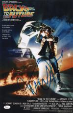 Michael J. Fox Signed Back To The Future 11x17 Movie Poster Jsa Loa Y54300