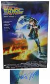 Michael J Fox Signed Back To The Future 24x36 Movie Poster