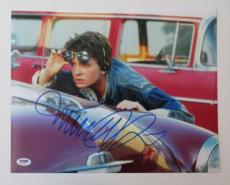 Michael J. Fox Signed Back to The Future Authentic 11x14 Photo (PSA/DNA) #Q31053