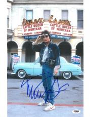 Michael J. Fox Signed Back to the Future Authentic 11x14 Photo (PSA/DNA) #S34192