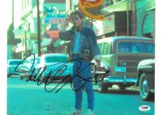 Michael J. Fox Signed Back to the Future Autographed 10x14 Photo PSA/DNA #S34193