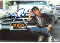 Michael J. Fox Signed Back to the Future Autographed 10x14 Photo PSA/DNA #S34194