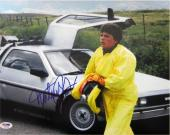 Michael J. Fox Signed Back to the Future Autographed 11x14 Photo PSA/DNA #I36268