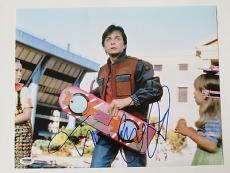 Michael J. Fox Signed Back to the Future Autographed 11x14 Photo PSA/DNA #J03270