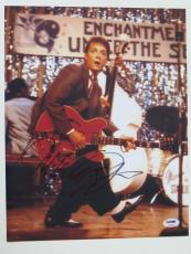 Michael J. Fox Signed Back to the Future Autographed 11x14 Photo PSA/DNA #L48082