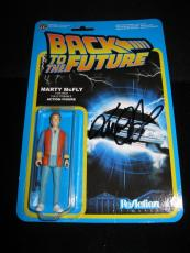 "Michael J Fox Signed 'back To The Future' Funko Action Figure ""marty Mcfly"" Jsa"