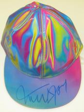 Michael J Fox Signed Back To The Future Hat Authentic Autograph Psa Proof