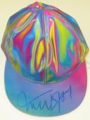 Michael J Fox Signed Back To The Future Hat Authentic Autograph Psa Proof