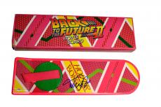 Michael J. Fox Signed Back To The Future Hoverboard AFTAL UACC RD COA PSA