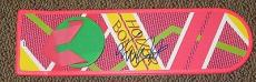 Michael J Fox Signed Back To The Future Hoverboard Autograph Proof Psa Y89214