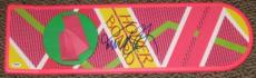 Michael J Fox Signed Back To The Future Hoverboard Exact Proof Autograph Psa/dna