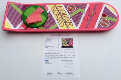 Michael J. Fox Signed Back To The Future Ii Mattel Hoverboard Jsa Loa Y61562