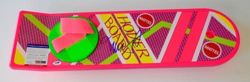 Michael J. Fox Signed Back To The Future Ii Mattel Hoverboard Psa Coa X67094