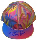 Michael J Fox Signed Back To The Future Marty McFly Multi Color Hat