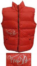 Michael J Fox Signed Back To The Future Marty McFly Red Costume Vest
