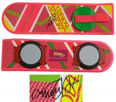Michael J Fox Signed Back To The Future Pink Hover Board