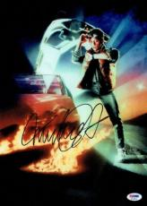 Michael J. Fox Signed BTTF Authentic Autographed 10x14 Photo PSA/DNA #K16311