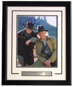 Michael J. Fox Signed Framed 11x14 Back To The Future Photo PSA U73093