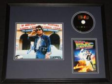 Michael J Fox Signed Framed 16x20 Back to the Future DVD & Photo Set JSA