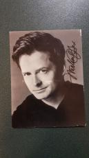 Michael J. Fox-signed photo-70 Post Card