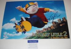 Michael J. Fox Signed Stuart Little Photo Poster Psa
