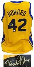 Michael J Fox Signed Teen Wolf Beavers Gold Custom Basketball Jersey