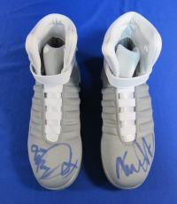 Michael J Fox Signed x2 Pair of Back to the Future II Sneakers PSA/DNA
