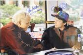 MICHAEL J FOX & TOM WILSON Signed BACK TO THE FUTURE 12x18 Photo PSA/DNA AB08960