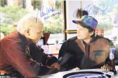 MICHAEL J FOX & TOM WILSON Signed BACK TO THE FUTURE 12x18 Photo PSA/DNA AB08961