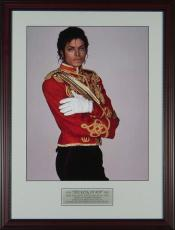 Michael Jackson 16x20 Framed Photo Display