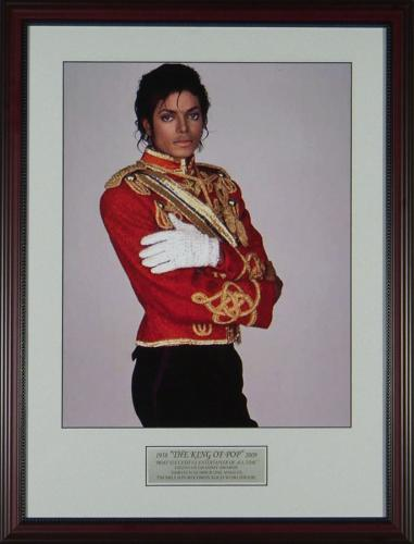 Michael Jackson 16x20 Framed Photo Display