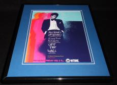 Michael Jackson 2016 Motown to Off the Wall Framed 11x14 ORIGINAL Advertisement