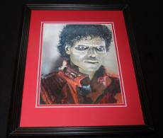 Michael Jackson 3D Thriller Framed 11x14 Photo Display