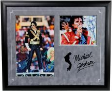 Michael Jackson Autographed 8x10 Photo Framed