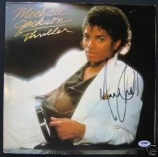 Michael Jackson  Autographed Album