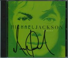 Michael Jackson Autographed Signed CD Authentic PSA/DNA COA