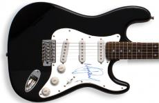 Michael Jackson Autographed Signed Guitar & Proof UACC RD