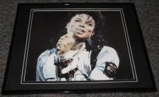 Michael Jackson Bad Concert Tour Framed 8x10 Poster Photo