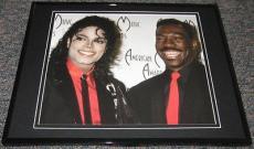 Michael Jackson & Eddie Murphy AMAs Framed 8x10 Poster Photo