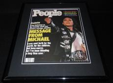 Michael Jackson Framed 11x14 ORIGINAL 1987 People Magazine Cover