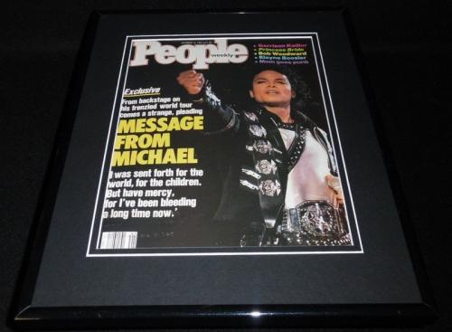 Michael Jackson Framed 11x14 ORIGINAL 1987 People Magazine Cover