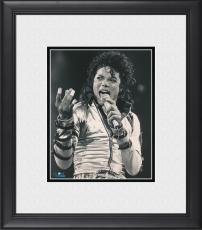 """Michael Jackson Framed 8"""" x 10"""" Performing on Stage Photograph"""