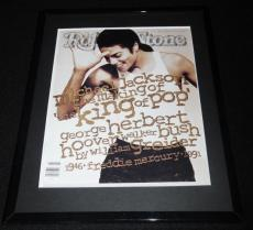 Michael Jackson Framed January 9 1992 Rolling Stone Cover Display