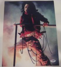 MICHAEL JACKSON (King of Pop) Signed 11x14 PHOTO w/ PSA LOA